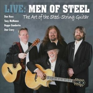 don ross Discography 2003 Men of Steel Live
